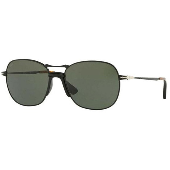 Persol Square Style Dark Green Lens.